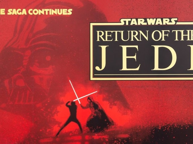 BRAD'S APRIL ESCAPE PART 17: STAR WARS: RETURN OF THE JEDI