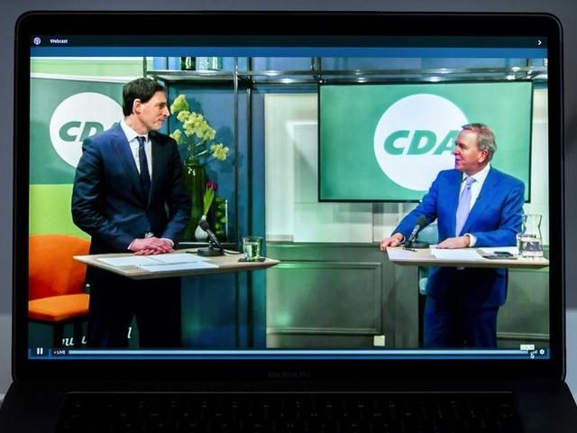 CDA-lijsttrekker Wopke Hoekstra wil jonge ouders 'perspectief bieden'