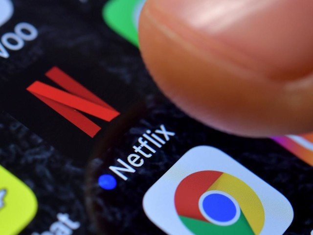 Tegenvallende omzet voor Netflix, aandeel in de min