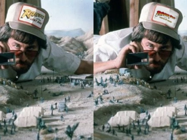 Spielberg Fun - Spot The Difference. Five To Find