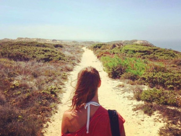 Wandel langs de Portugese kust, dan zie je dit