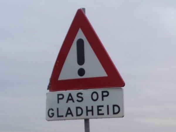 KNMI waarschuwt weer voor gladde wegen