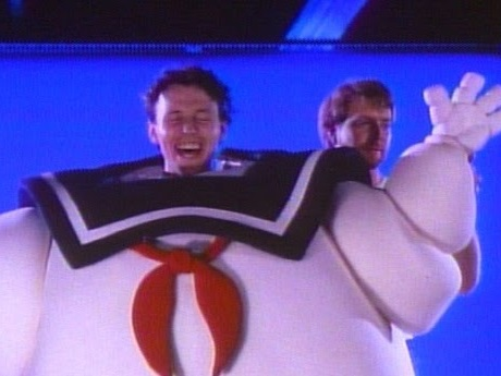 Bringing The Stay Puft Marshmallow Man To Life - Photos And Trivia From Ghostbusters