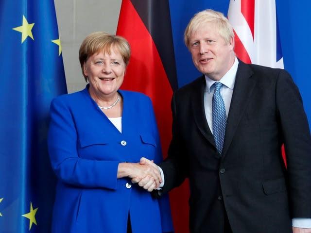 Merkel geeft Johnson dertig dagen voor oplossing backstop