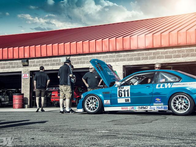 Laguna Seca BMW E46 M3 Gets Ready For A Track Day