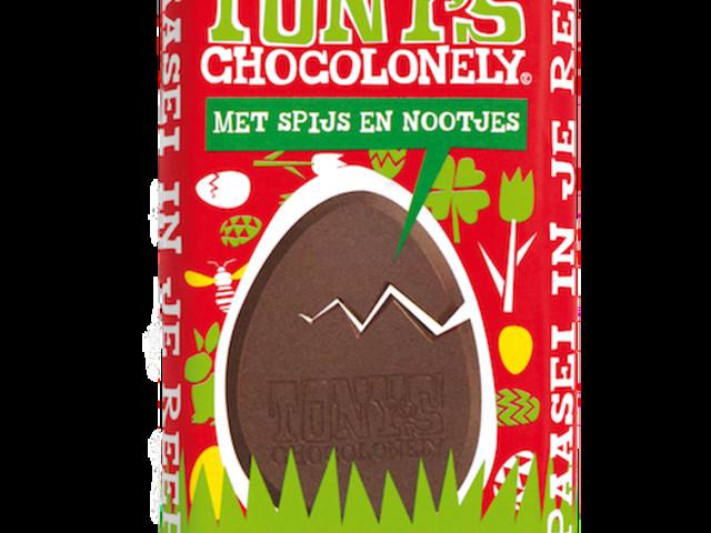 Yes! De paasreep van Tony's Chocolonely is er & dit is de smaak