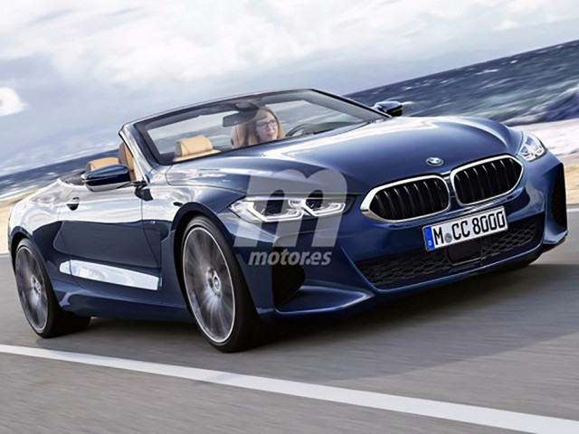 Upcoming BMW 8 Series Convertible gets rendered