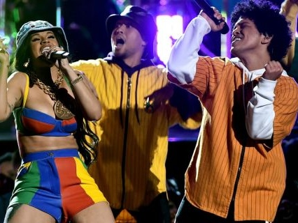"""They Won: Cardi B And Bruno Mars Release Very Flirty Video For Their Collaborative Single """"Please Me"""" [Video]"""