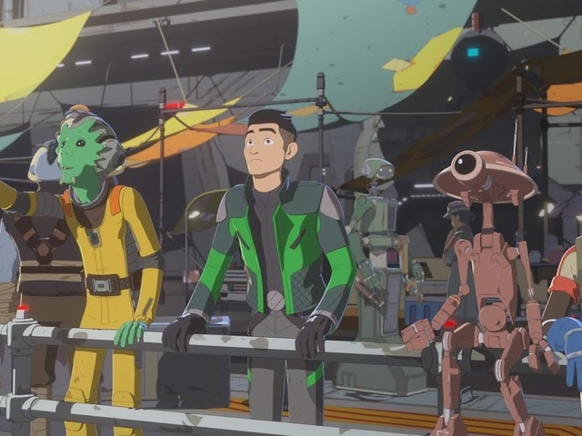It's Time for The Platform Classic on the All-New Episode of Star Wars Resistance 11/25 @ 10PM