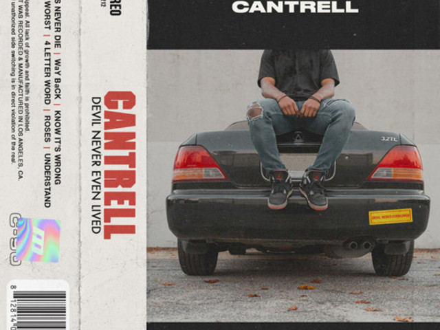 Cantrell Drops New EP, 'Devil Never Even Lived'