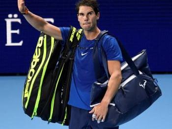 Nadal trekt zich terug uit ATP Finals