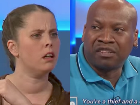 The Swirl: Jeremy Kyle Advises This Goober To Leave His Cheating Woman! [Video]