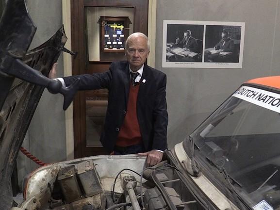Expositie over de langste rally ter wereld in het DAF museum, Cowan (81): 'It was wonderful'