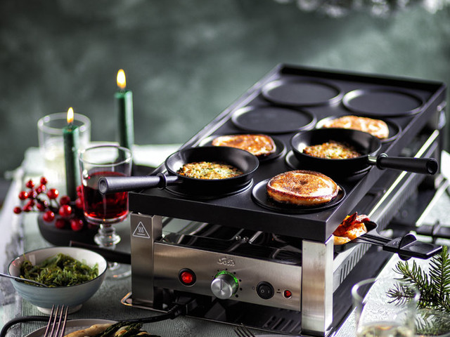 Stop… Glamour time – kerst gourmetten met de Solis 5 in 1 Table Grill