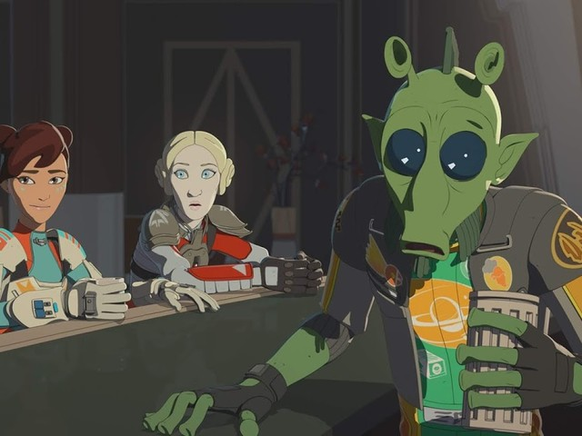New Images and Video Released For The Latest Episode Of Star Wars Resistance
