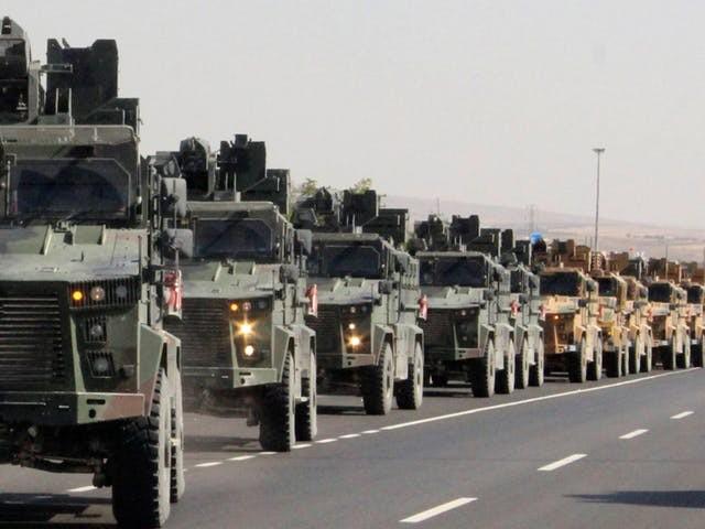 Turkije valt Syrië binnen om Koerden terug te dringen