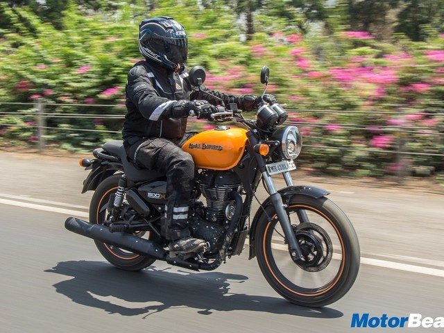 2020 Royal Enfield Thunderbird Caught Testing [Video]