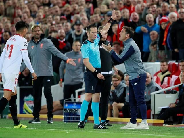 Sevilla-trainer boos op Makkelie