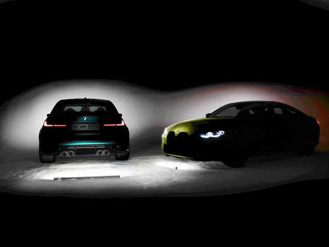 The Ultimate Proof: 2021 BMW M3 and M4 will have a large kidney grille