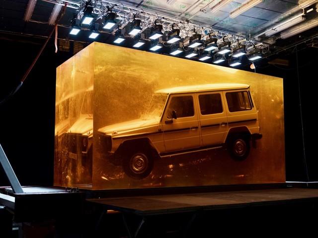 Mercedes-Benz preserves a 1979 G-Class in amber
