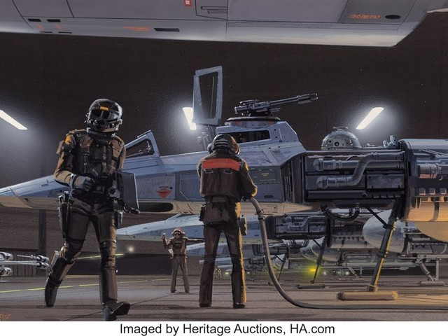 Ralph McQuarrie's Original Star Wars Concept Art Unseen for 35 Years May Bring $100,000 at Heritage Auctions