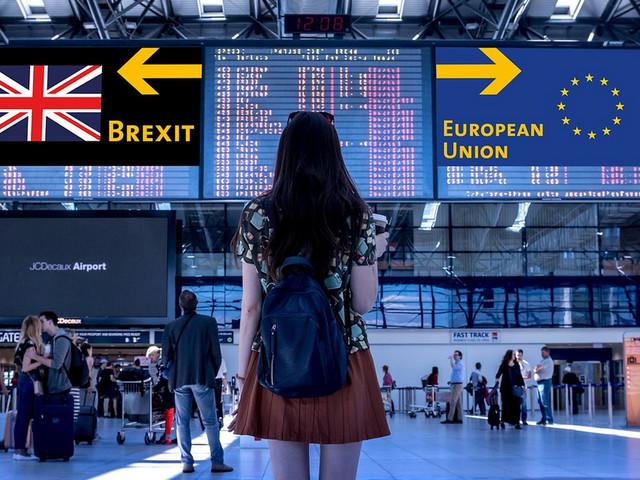 Hofvijver januari 2020: eindelijk Brexit!