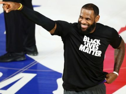 For The People: LeBron James Teams Up With The Los Angeles Dodgers To Make Dodger Stadium An Election Polling Place