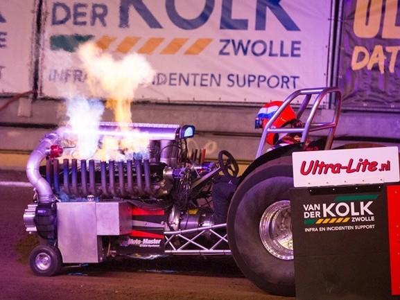 In beeld: Indoor Tractor Pulling Zwolle 2019