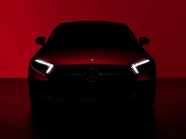 2018 Mercedes-Benz CLS teased ahead of its LA debut
