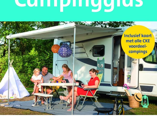 ANWB Campinggids 2018 in een nieuw jasje