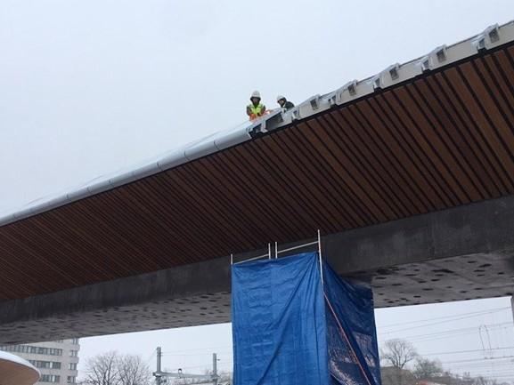 Zwolle maakt zich op voor de opening van de fonkelnieuwe busbrug