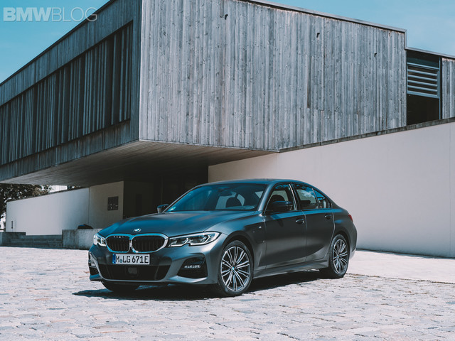 Photoshoot with the new 2020 BMW 330e Plug-in hybrid