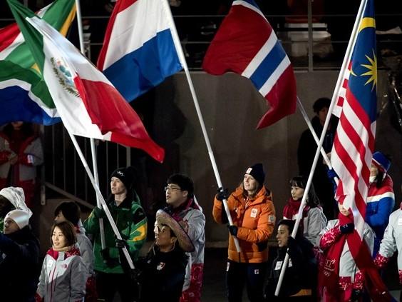 'De sportprestaties van Ireen Wüst en het dragen van de Nederlandse vlag komen mooi samen'