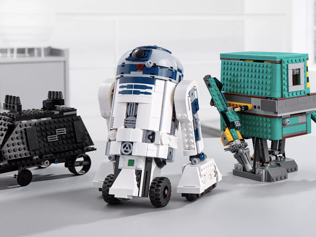 LEGO Release Star Wars BOOST Droid Commander
