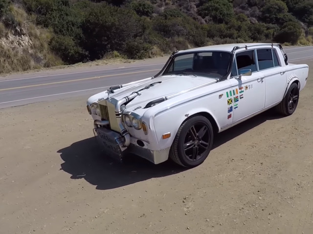 VIDEO: Heavily modified Rolls Royce Silver Shadow is the gnarliest thing you'll see today