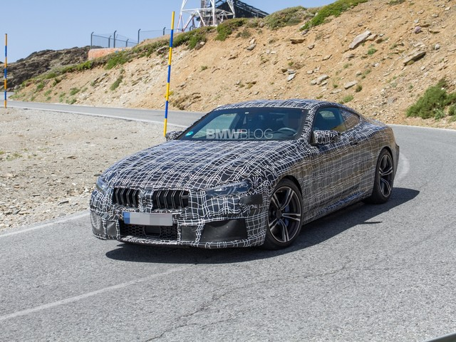 VIDEO: BMW M8 caught testing at the Nurburgring again