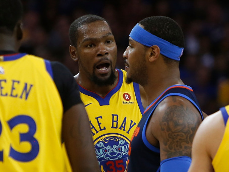Fake Tough Fisticuffs: KD & Melo's Medium Spicy Murrrland Kerfuffle Sparked Hilarious Chaos