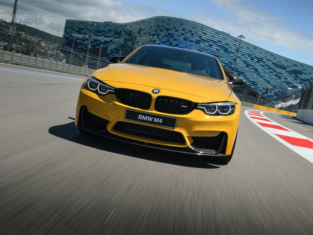 VIDEO: Becky Evans takes delivery of a Speed Yellow F80 BMW M3