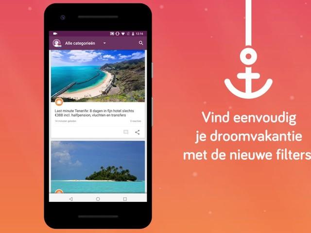 VakantiePiraten.nl lanceert nieuwe app