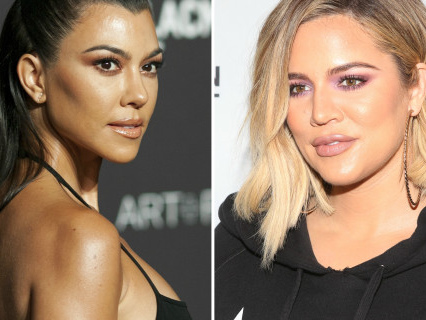 Quit Yer Beyotchin': Kourtney And Khloe Beef It Up Over Who Is Being More Negative [VIDEO]