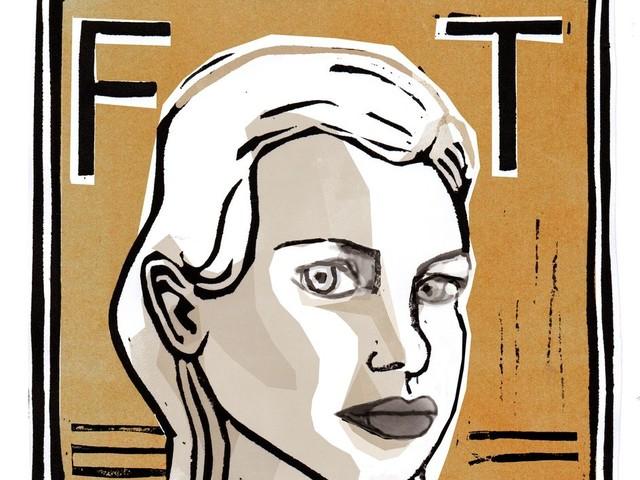 Het is eigenlijk wel frappant dat schrijfster Franca Treur zo omringd is met literatuurmijders