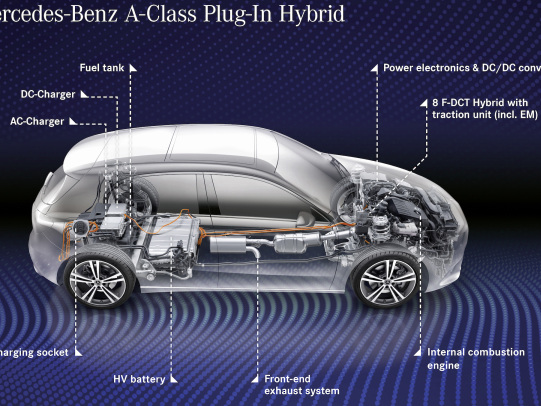 Mercedes-Benz introducing A- and B-Class plug-in hybrid models