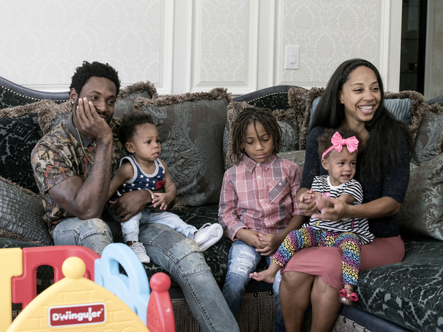 Exclusive: Antonio & Terricka Cromartie Say They Want To Be A Positive Example For Other Blended Families