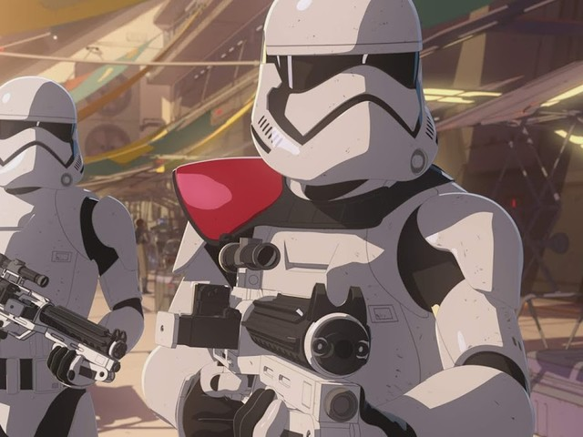 "New Video and Images for the next episode of Star Wars Resistance! ""The First Order Occupation"""
