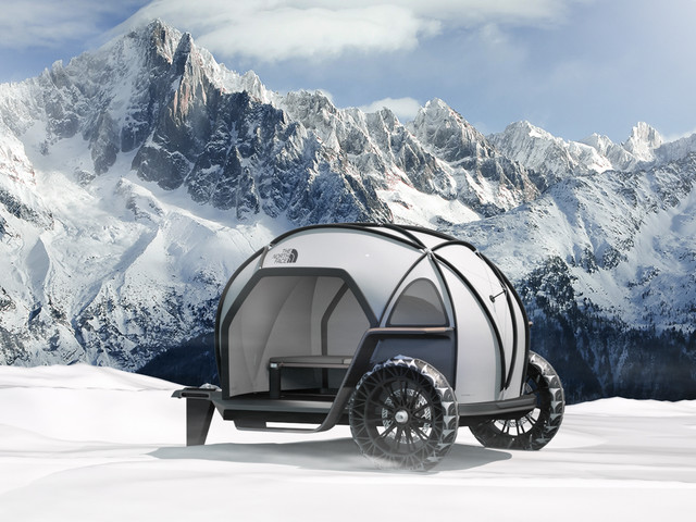 BMW Designworks collaborates with North Face for new Camper Concept