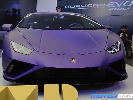 Lamborghini Huracan Evo RWD Launched, Priced At Rs. 3.22 Crores