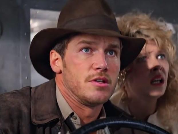 Video: Chris Pratt As Indiana Jones