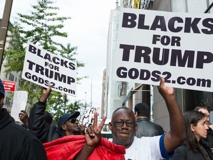 """Really, Unc? White Folks Cheer For Industry-Plant-Lookin' Brotha """"African-Americans Love You, Trump!"""""""