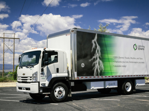 Lightning Systems all-electric medium-duty vehicles selected for State of California contract
