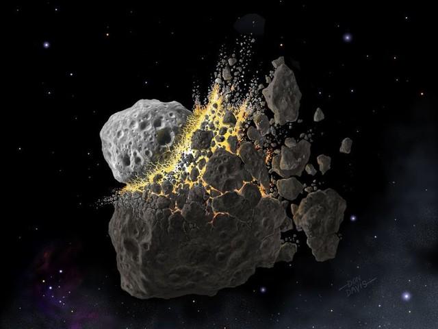 Gigantische crash asteroïden leidde tot massaal uitsterven op aarde